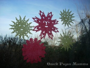 paper sun faces