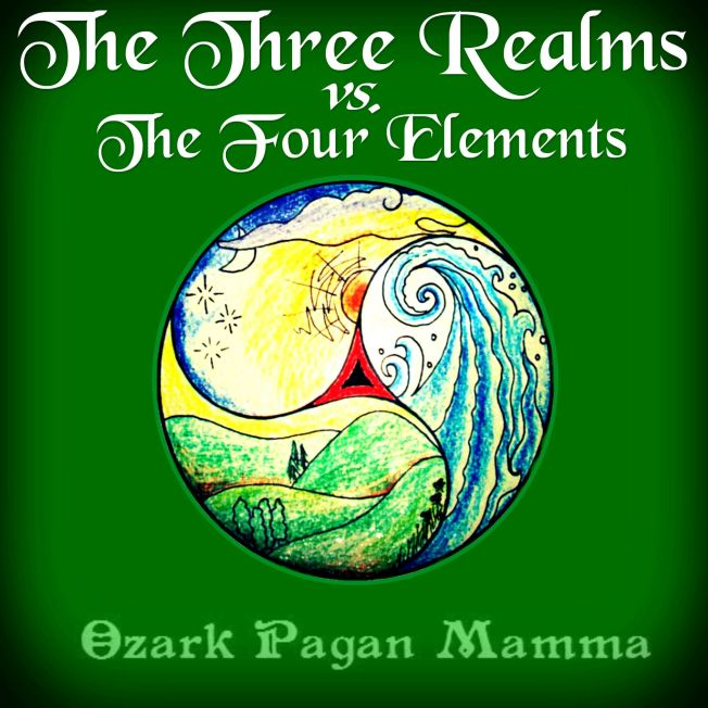 The Three Realms vs. The Four Elements