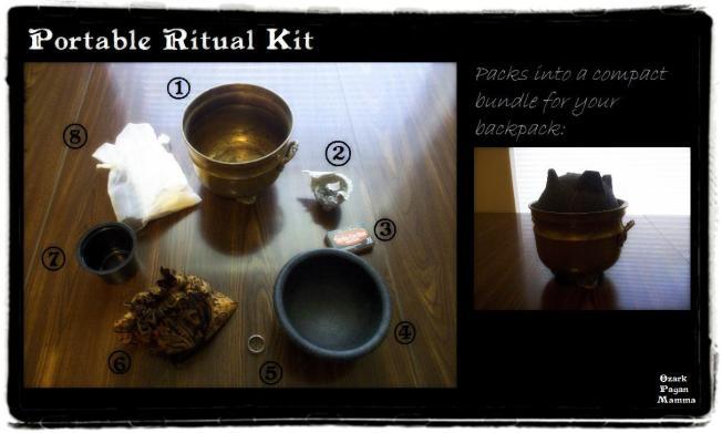 portable ritual kit