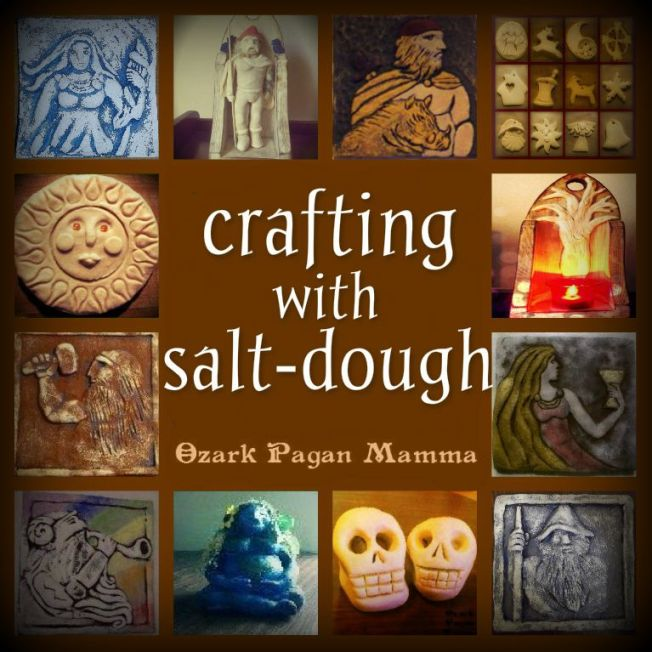 crafting with salt dough