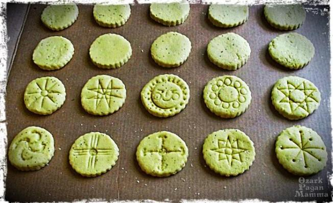 salt dough sun medallions