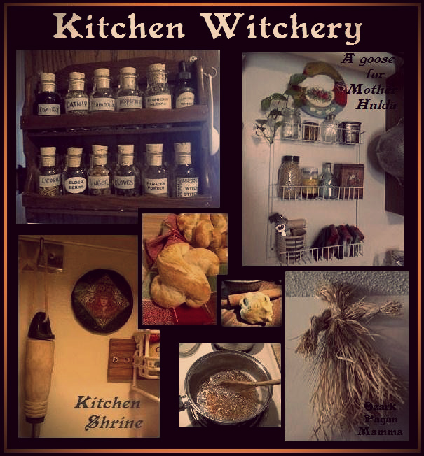 Kitchen Witchery - Ozark Pagan Mamma