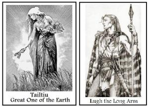 Lughnasadh deities