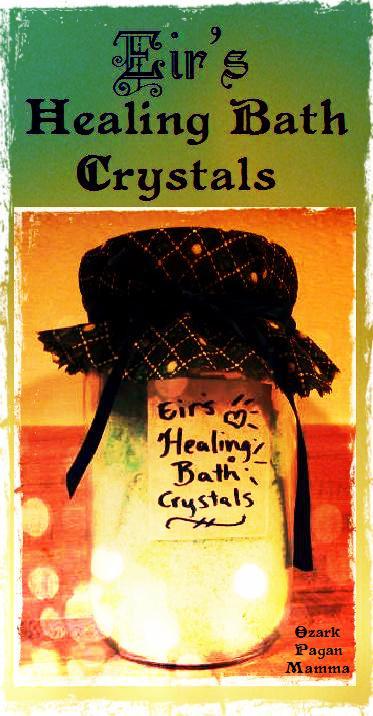 Eir's Healing Bath Crystals