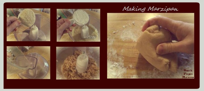 making marzipan