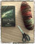 book scissors yarn