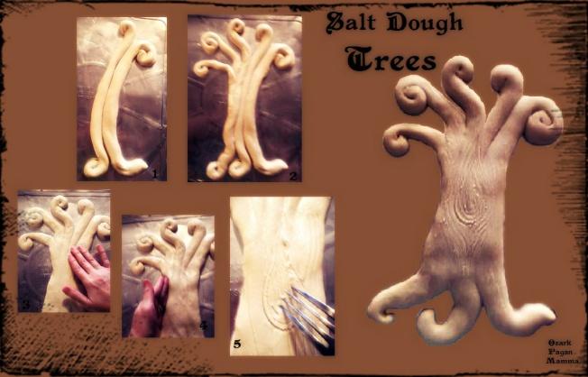 Salt Dough Trees