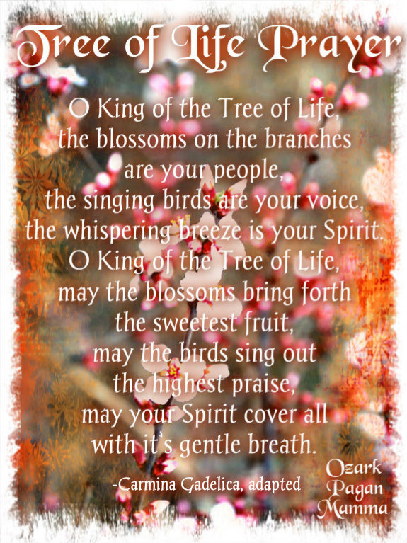 tree of life prayer