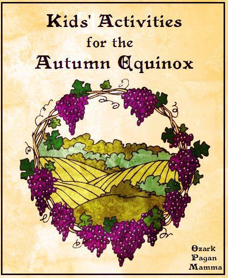 Kid's Activities for Autumn Equinox