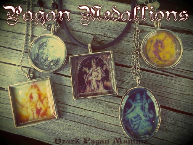 Pagan Medallions