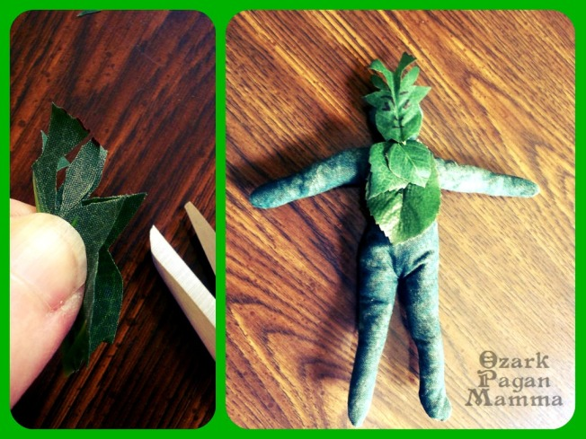 greenman doll comes to life