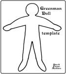 greenman doll template