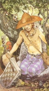 Lugus The Magician from Lo Scarabeo's Celtic Tarot